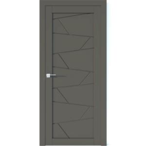 Межкомнатная дверь Аврора Vector V12 (Грей, глухая)