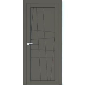 Межкомнатная дверь Аврора Vector V13 (Грей, глухая)