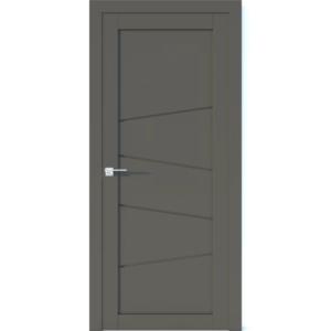 Межкомнатная дверь Аврора Vector V14 (Грей, глухая)