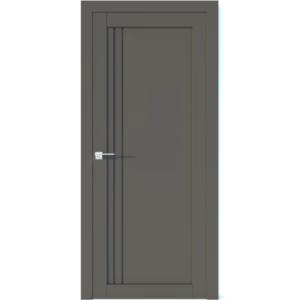 Межкомнатная дверь Аврора Vector V15 (Грей, глухая)