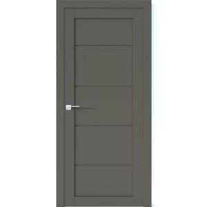 Межкомнатная дверь Аврора Vector V17 (Грей, глухая)