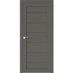 Межкомнатная дверь Аврора Vector V18 (Грей, глухая)