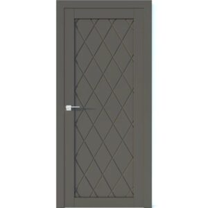 Межкомнатная дверь Аврора Vector V2 (Грей, глухая)