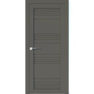 Межкомнатная дверь Аврора Vector V21 (Грей, глухая)