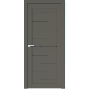 Межкомнатная дверь Аврора Vector V22 (Грей, глухая)