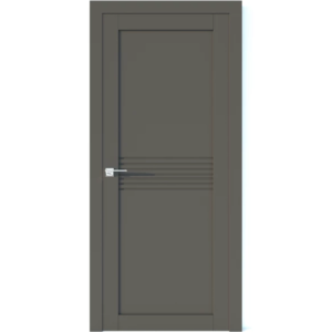 Межкомнатная дверь Аврора Vector V24 (Грей, глухая)