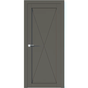 Межкомнатная дверь Аврора Vector V25 (Грей, глухая)