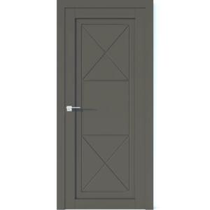 Межкомнатная дверь Аврора Vector V26 (Грей, глухая)