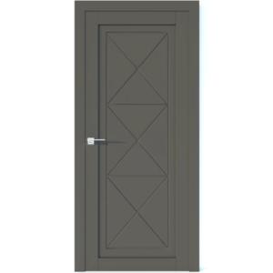 Межкомнатная дверь Аврора Vector V27 (Грей, глухая)