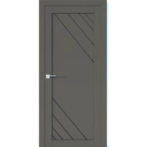 Межкомнатная дверь Аврора Vector V28 (Грей, глухая)