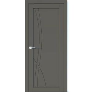 Межкомнатная дверь Аврора Vector V29 (Грей, глухая)