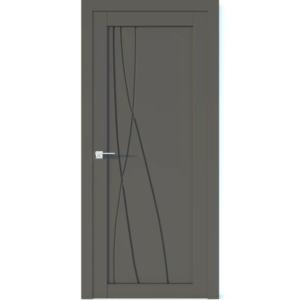 Межкомнатная дверь Аврора Vector V30 (Грей, глухая)