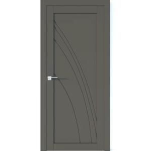 Межкомнатная дверь Аврора Vector V31 (Грей, глухая)