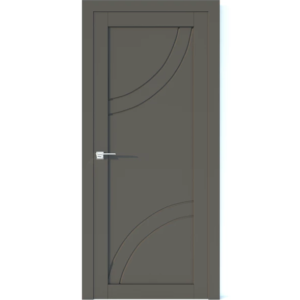 Межкомнатная дверь Аврора Vector V32 (Грей, глухая)