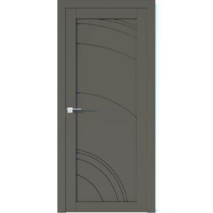 Межкомнатная дверь Аврора Vector V33 (Грей, глухая)