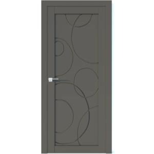 Межкомнатная дверь Аврора Vector V35 (Грей, глухая)