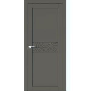 Межкомнатная дверь Аврора Vector V36 (Грей, глухая)