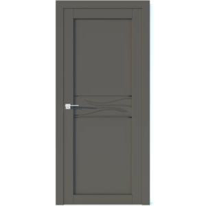 Межкомнатная дверь Аврора Vector V37 (Грей, глухая)