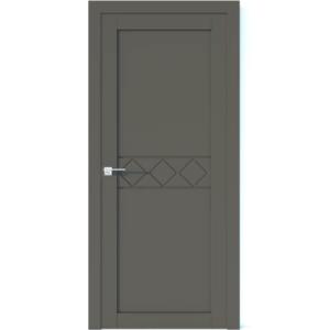 Межкомнатная дверь Аврора Vector V38 (Грей, глухая)