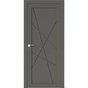 Межкомнатная дверь Аврора Vector V4 (Грей, глухая)