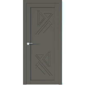 Межкомнатная дверь Аврора Vector V41 (Грей, глухая)
