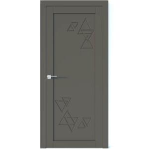 Межкомнатная дверь Аврора Vector V42 (Грей, глухая)