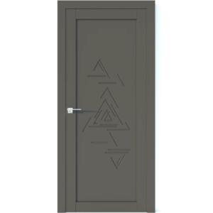 Межкомнатная дверь Аврора Vector V43 (Грей, глухая)