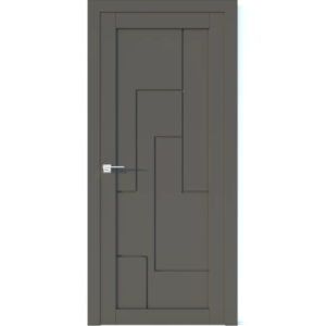 Межкомнатная дверь Аврора Vector V6 (Грей, глухая)