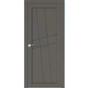 Межкомнатная дверь Аврора Vector V8 (Грей, глухая)