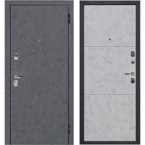 Входная дверь Монтана Бетон Снежный